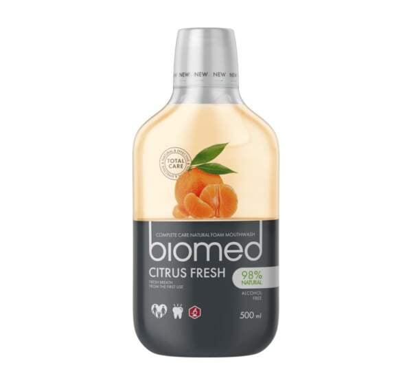 Biomed płyn do płukania jamy ustnej Superwhite 500 ml