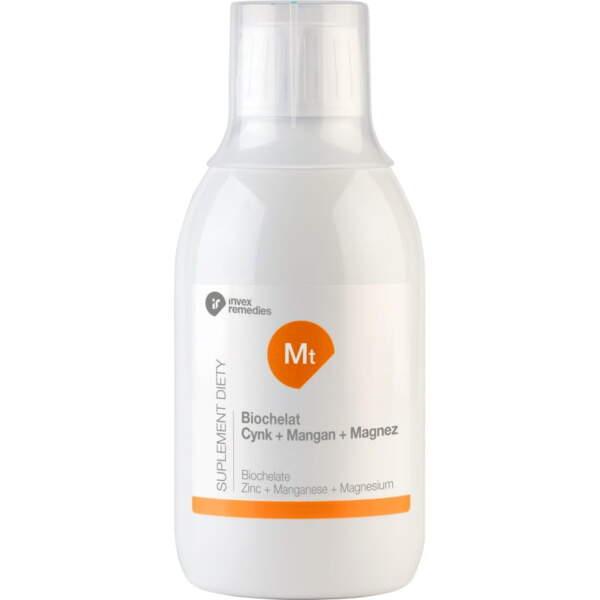 Biochelat Cynk+ Mangan+ Magnez 300 ml